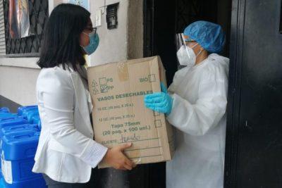 El Sector de Manufacturas donó insumos para Hogar San Vicente de Paul