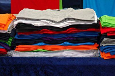 Camisetas de punto entre los principales productos exportados en marzo 2021
