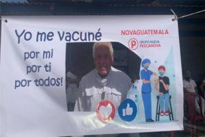 Exitosa jornada de vacunación COVID-19 de la empresa camaronera NOVAGUATEMALA S.A.